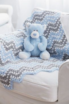 Granny Ripple Blanket Free Crochet Pattern