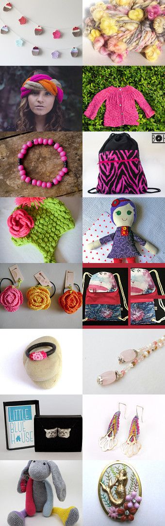 Pink and sweet, made in Chile by Pepa Canales on Etsy--Pinned with TreasuryPin.com