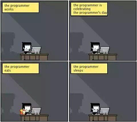 Ekspresinya sama ajah :v #programmergeek #programmer #programming #pemrograman #coding #code #kode #coder #developer #softwareengineer #softwareengineering #javascript #java #json #jwt #python #php #ci #codeigniter #webdeveloper #webapp #webdevelopment #mobileapps #mobiledeveloper #mobiledevelopment #mongodb #mongo #mysql #database