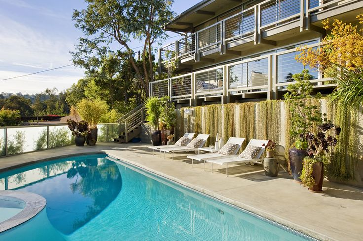 Jeff lewis valley oak patios pools backyard - Interior therapy with jeff lewis ...