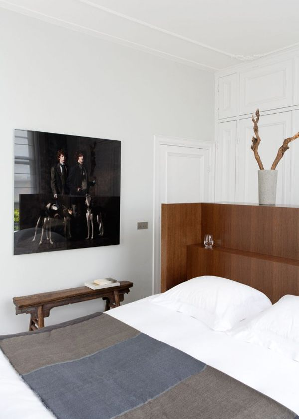 People of the Labyrinths by Erwin Olaf in a bedroom designed by Remi Meijers.