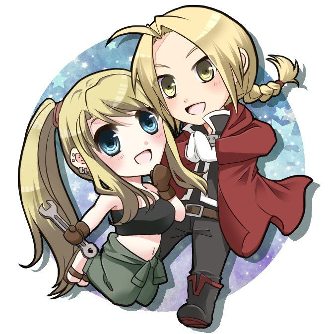 Fullmetal Alchemist ★ Ed and Winry