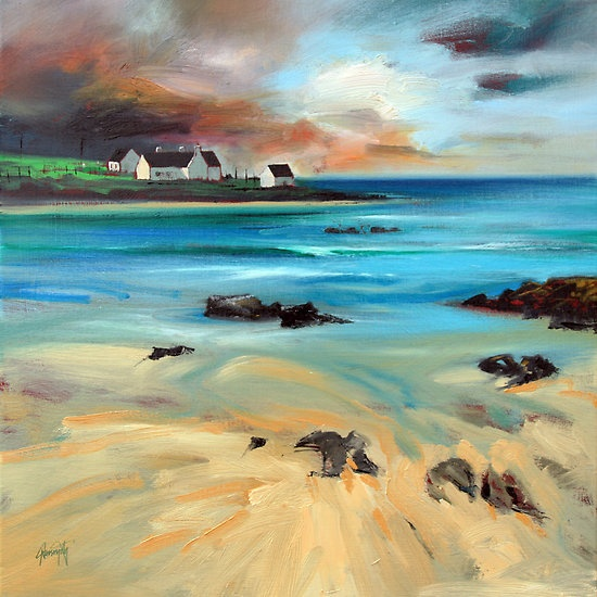 Tiree Shore by Scott Naismith