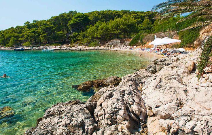 Playas de la costa dálmata, Croacia - Playas en las que renacer