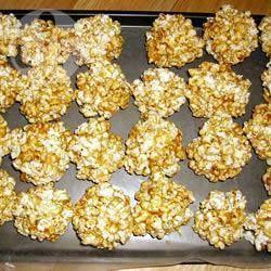Popcornballen @ allrecipes.nl