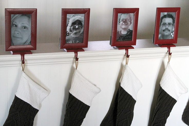Images about christmas stocking holders for mantle