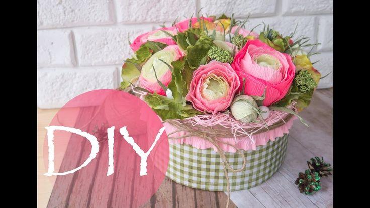 Цветы в коробке /  Flowers in a box