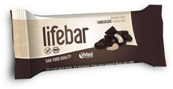 Lifebar RAW ENERGY BARS Chocolate