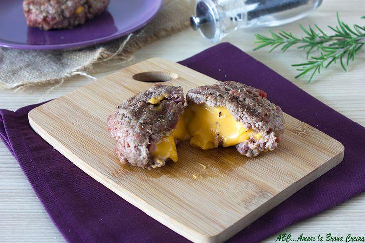 Hamburger+ripieni+di+formaggio