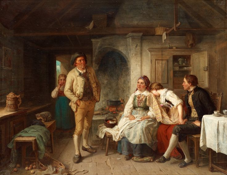 William Henry Knight The Young Artist Art 19th Century British