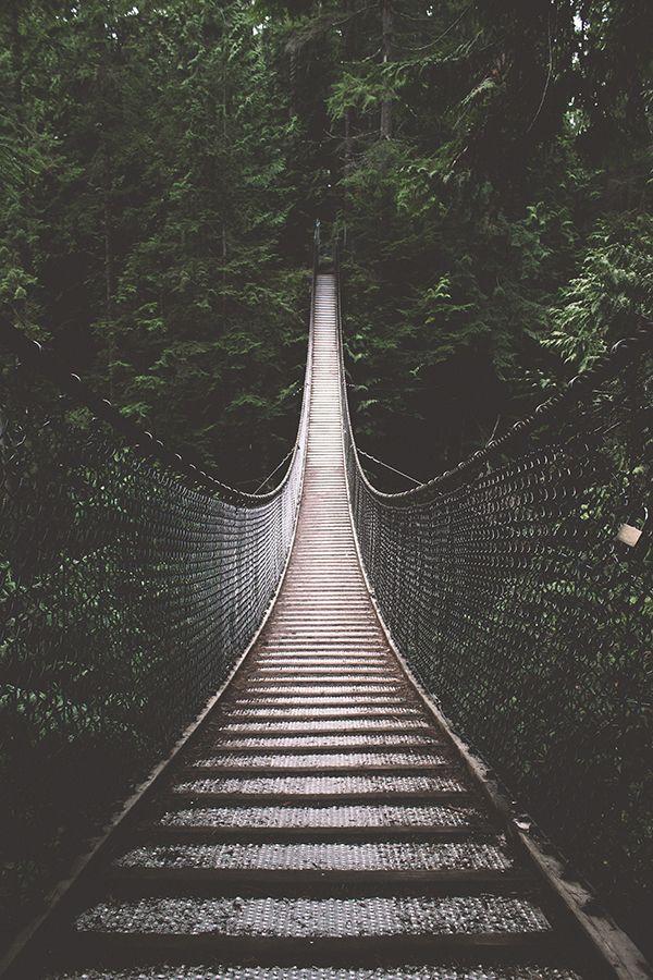 Lynn Canyon Suspension Bridge x Bronson Snelling