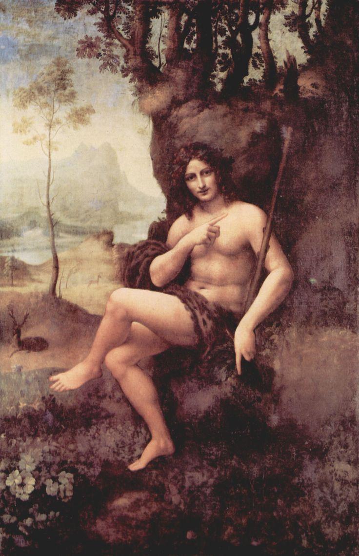 God Dionysos (Davinci), my mom almost named me Dionysos!! Leonardo Da Vinci