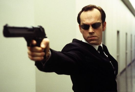 Agent Smith. The Matrix Reloaded