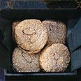 LEBKUCHEN-GERMAN HOLIDAY TREATS- Not the right picture, but similar. These are authentic with the rice paper bottom!