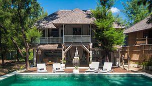 Coral Flora Villa - Gili Islands - yoga available