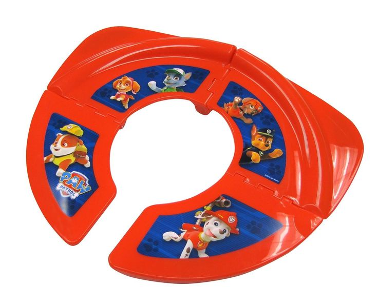 Nickelodeon NEW Folding Potty Seat For Kids Portable Toilet Training Travel
