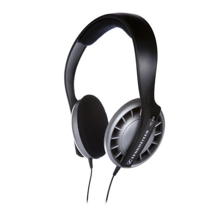 Enjoy soul, funk, grunge and percussion music to the fullest with the Sennheiser HD408 Headphones. Its open, supra-aural design lets you enjoy a bass-driven stereo sound reproduction while its flexible headband.