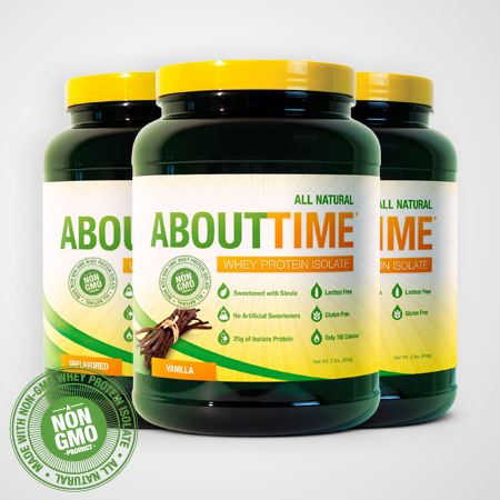 PRODUCT REVIEW: About Time - Whey Protein Isolate - The best low carb low sugar Vanilla protein powder I've had for the price. It's great with Unsweetened Almond Milk. Sometimes I add psyllium husk & chia seeds at night to keep me full, prevent snacking, & help stop cravings. Blends well in my shaker cup for a quick easy snack in less than a minute!