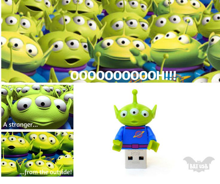 Usb Flash Driver - Ooooooh... a stranger from the outside #usb #stranger #ToyStory