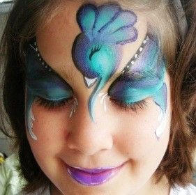 17 best ideas about peacock face painting on pinterest mask face paint butterfly face paint. Black Bedroom Furniture Sets. Home Design Ideas
