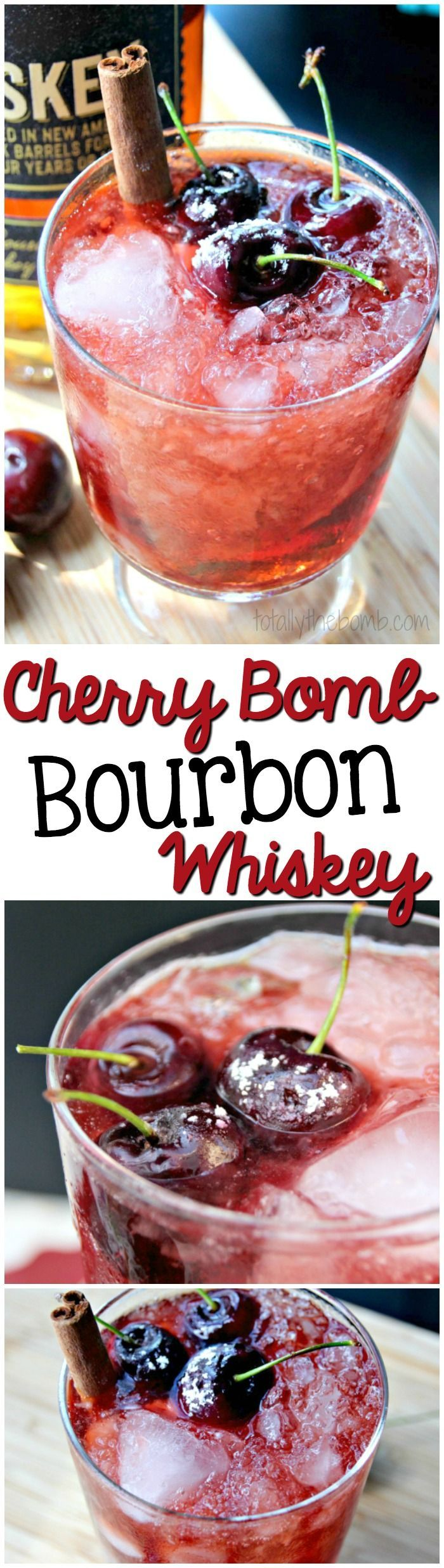 I am all about a hot toddy, and this cherry bomb bourbon whiskey is the very definition of hot and toddy. You need this in your life. Trust. | #whiskey #alcohol #cherrybomb #bourbon #drinks #cocktails #cherry #cherries #toddy