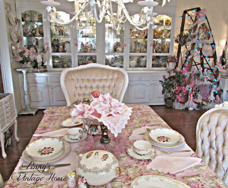 Penny's Vintage Home: Christmas Home Tour...Family Room