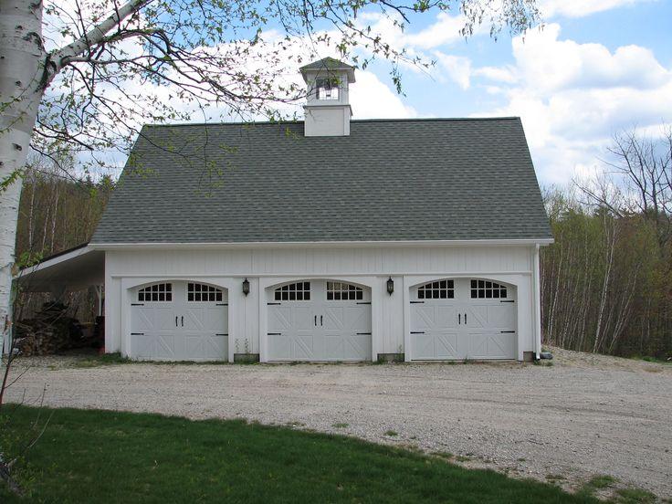 1000 images about car barn on pinterest 3 car garage for Metal 3 car garage