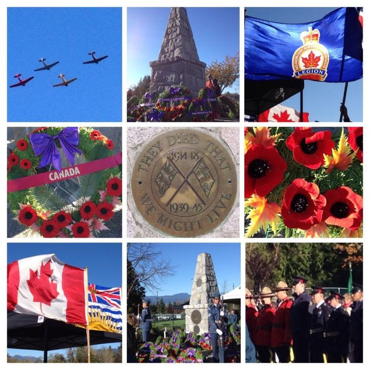 Remembrance Day 2014 - Confederation Park, Burnaby BC, Canada