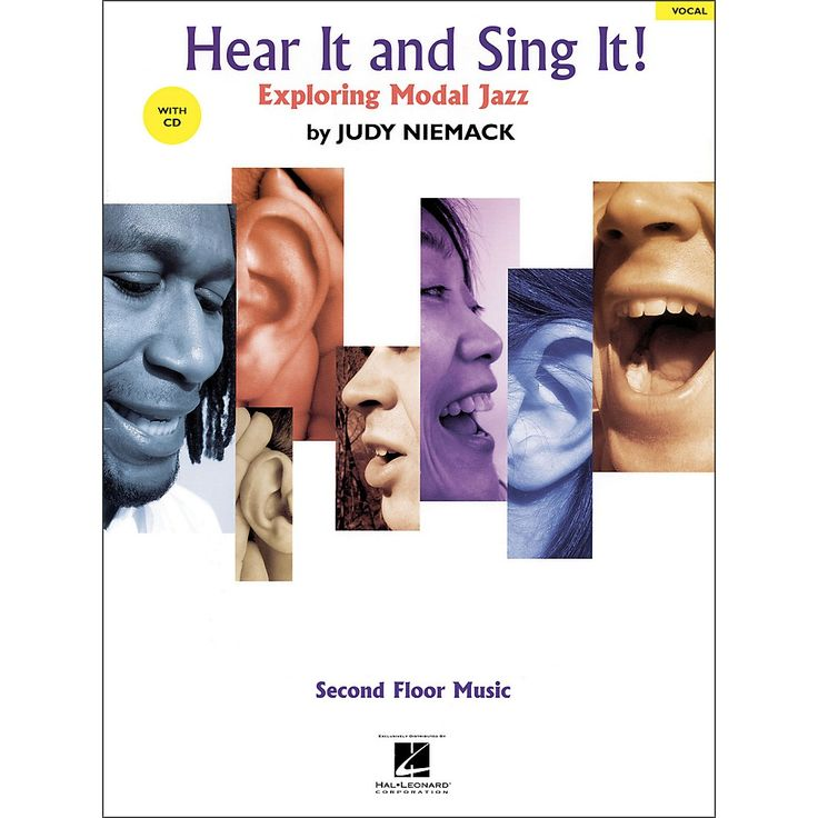 Hal Leonard Hear It And Sing It! Exploring Modal Jazz Book/CD