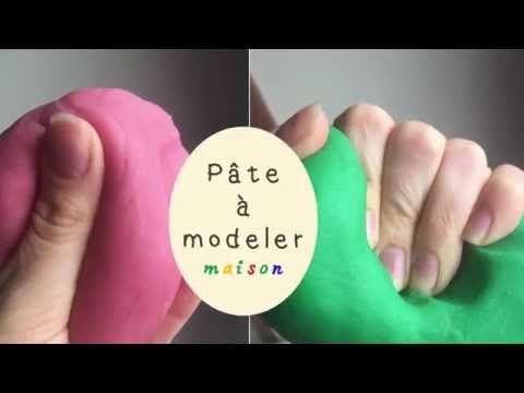 Comment faire de la pâte à modeler maison comme le Play Doh du magasin? - YouTube