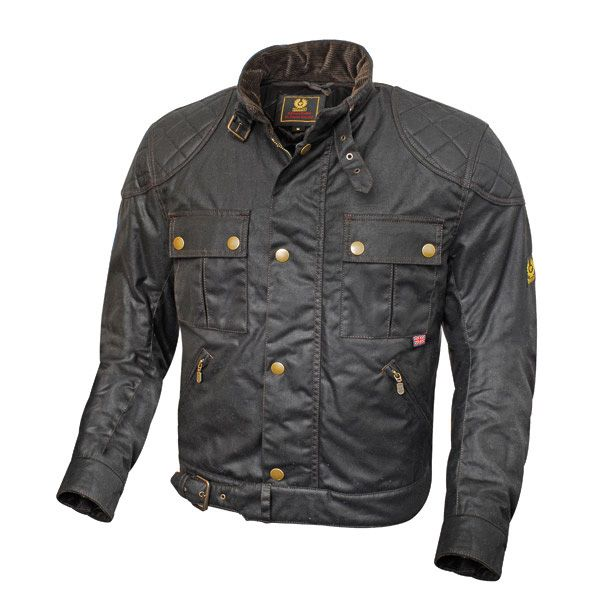 Belstaf Mojave wax cotton motorcycle jacket.  #motorcycle #jacket
