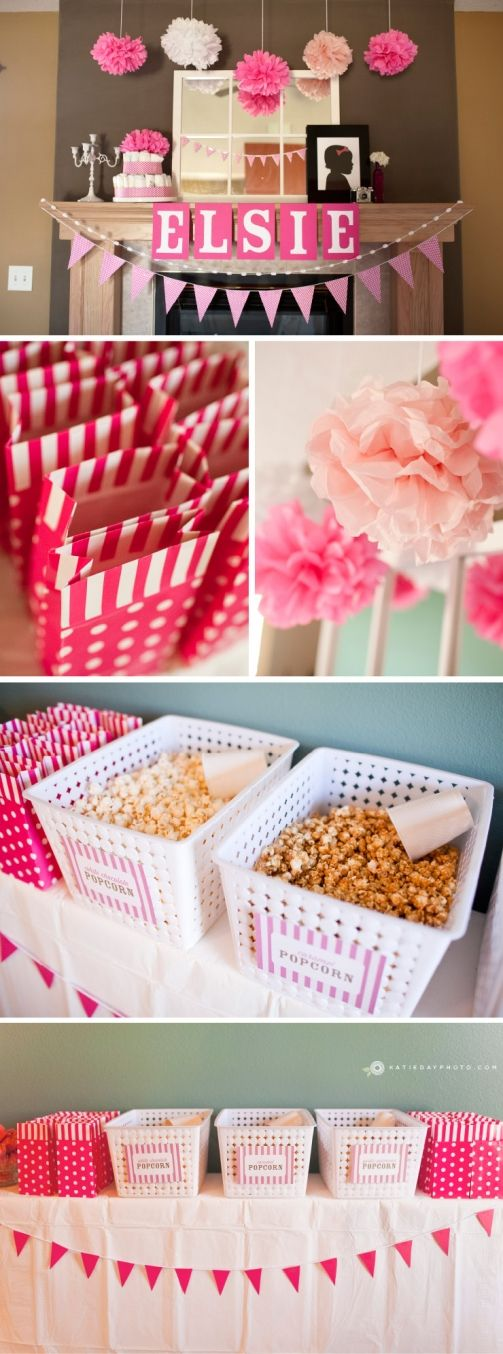 Ready-to-Pop Baby Shower!!! ---> love how the popcorn is put out
