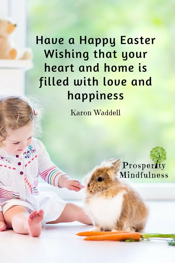 Happy Quotes : Have a Happy Easter.  Wishing that your heart and home is filled with love and h