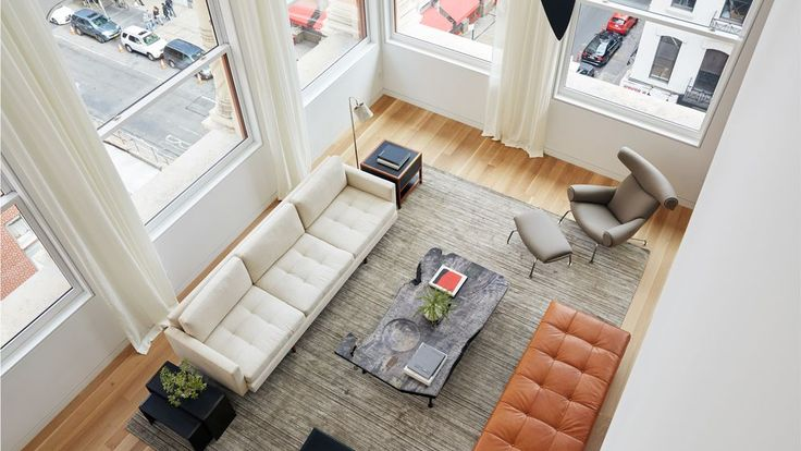 The Pritzker winner's second NYC project has been on the market since 2014 but it's only just revealing its sunny, spacious model apartment.