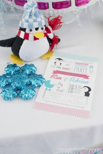 cute ideas at a penguin baby shower see more party ideas at