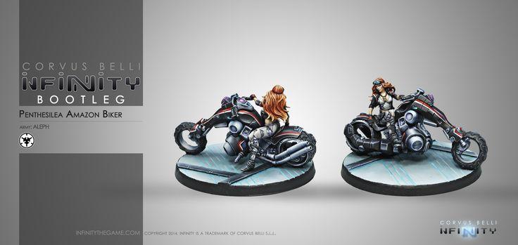 Penthesilea, Amazon Biker