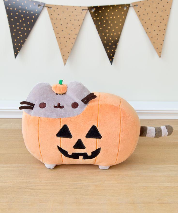 Pumpkin Pusheen plush // It is that time of year my friends @mvgicvl