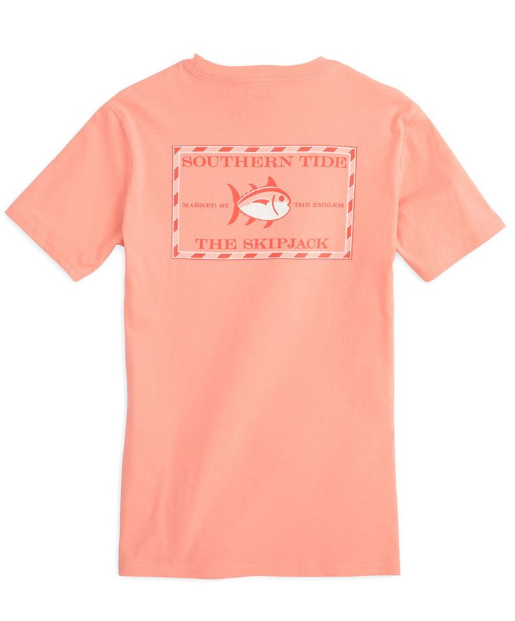 Southern Tide ladies rejoice! This pocket tee is for you! This is the all new Southern Tide Women's Original Skipjack Tee!