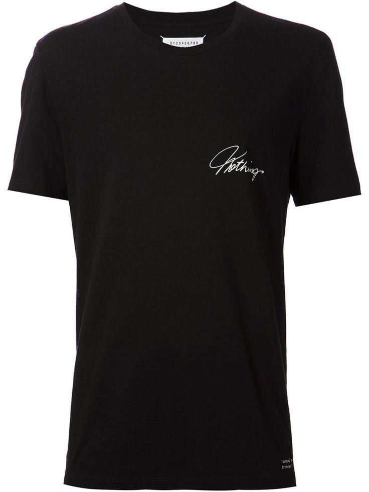 Maison Margiela 'nothing' T-shirt - Hirshleifers - Farfetch.com
