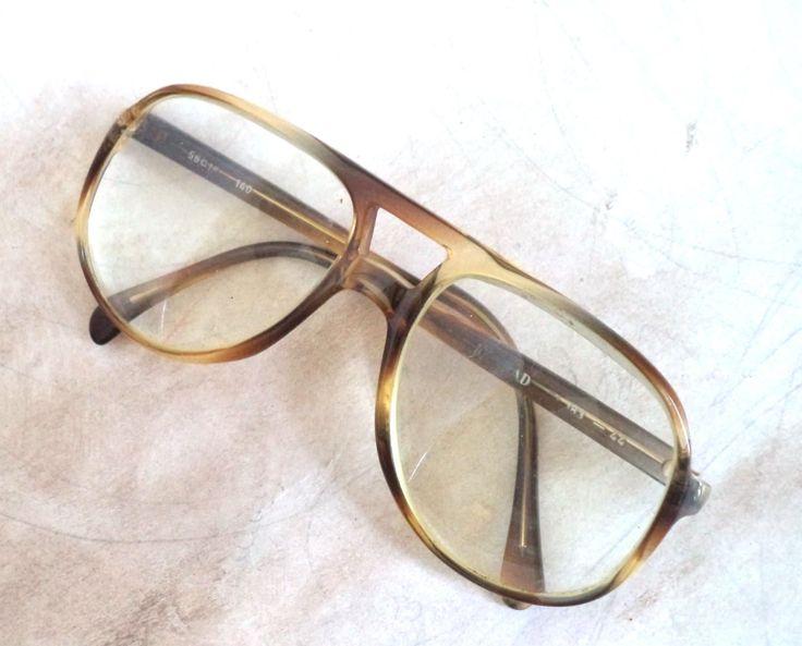 60s Menrad Retro Aviator Eyeglasses Sunglasses Unisex Tortoise Amber Oversized 56-18 Mod 183 Glasses Vintage Hipster Hippie Beatnik Gift by MushkaVintage3 on Etsy