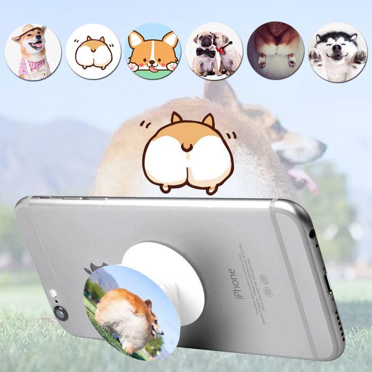 Lucu telepon pemegang pop memperluas berdiri grip socket mount untuk ponsel dan tablet untuk smartphone samsung iphone huawei xiaomi