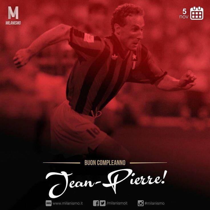 いいね!54件、コメント1件 ― Milanismoさん(@milanismoit)のInstagramアカウント: 「Tanti auguri a Jean-Pierre #Papin #milanismo . . . . . . . #5novembre #birthday #happybirthday #hbd…」