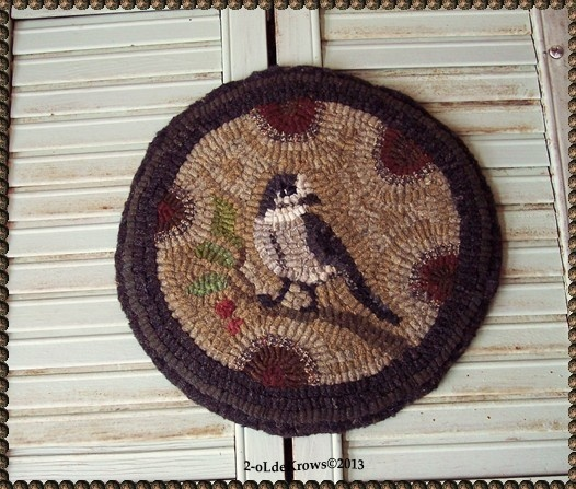 17 best images about Rug Hooking Chair Pads – Christmas Chair Pads