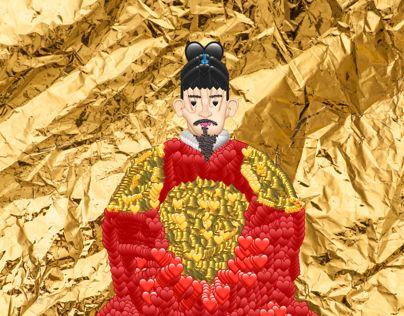 """다음 @Behance 프로젝트 확인: """"Emoji Korea - 세종대왕 (King Sejong)"""" https://www.behance.net/gallery/61116655/Emoji-Korea-(King-Sejong)"""