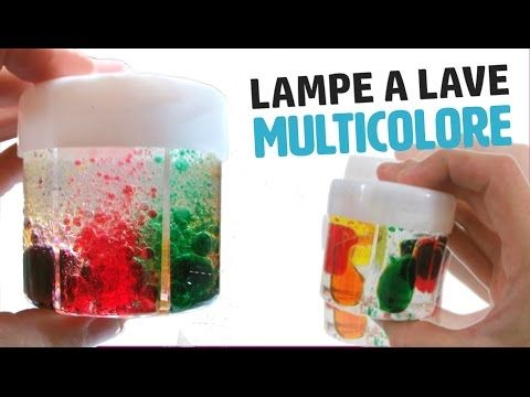Comment Faire Une Lampe A Lave Multicolore How To Make Multicolor