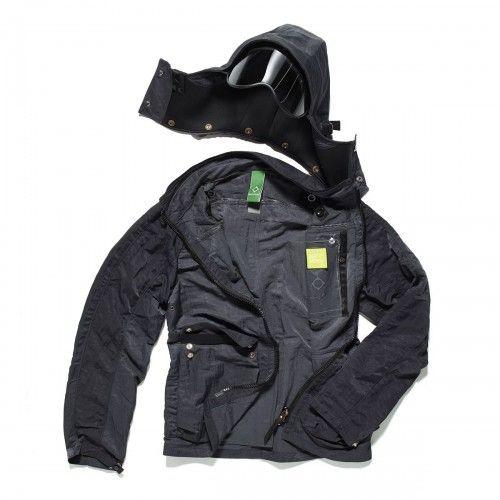 Hooded UV Shield Visor Jacket - Dark Grey