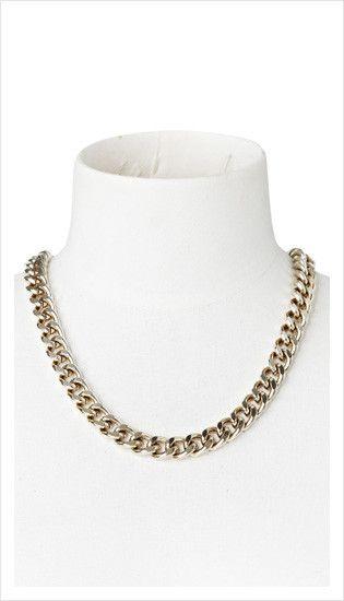 gold chain necklace | summer 2013 collection | juliette hogan