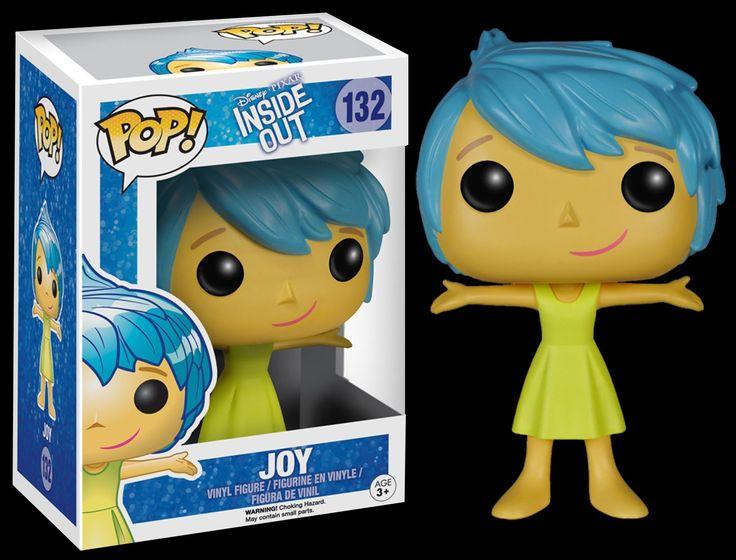 Divertidamente / Inside Out - Funko POP - Alegria / Joy - Figures Disney...