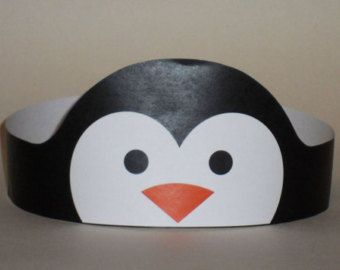 Penguin Girl Crown  Printable