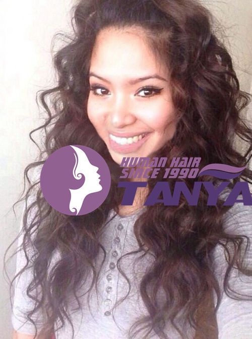 """12""""-22"""" Brazilian Body Wave 100% Remy Human Hair  Front Lace Wigs Baby Hair #Tanya #FullWig"""